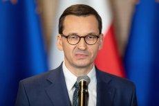 """Mateusz Morawiecki uderzył w """"Gazetę Wyborczą"""" za artykuł o zakupie działki."""