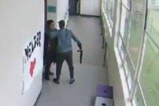 Nauczyciel zapobiegł szkolnej masakrze. W internecie właśnie pojawiło się nagranie z incydentu.