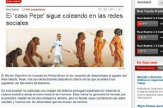 Okładka Mundo Deportivo obrażająca Pepe