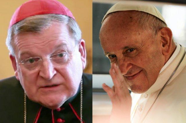 Fronda ma nowego idola. To kardynał, który przekonuje, że księża i wierni wcale nie muszą słuchać papieża.