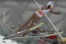 Kamil Stoch miał problemy z utrzymaniem równowagi w powietrzu podczas drugiego skoku turnieju.