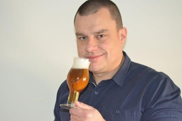 Maciej Chołdrych z piwem jest związany profesjonalnie od 20 lat.