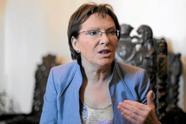 Ewa Kopacz jeszcze jako minister zdrowia.