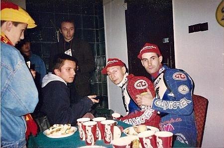 Bartłomiej Skrzyński wiele lat temu przeprowadza wywiad z braćmi Gollobami