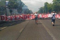 Przed meczem z Ukrainą – polscy kibice w Marsylii bronią europejskiej kultury.