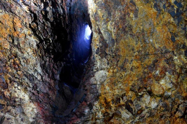 Eksploracja uśpionego wulkanu Thrihnukagigur (Islandia) od wewnątrz.