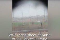 Izraelski żołnierz zastrzelił Palestyńczyka? Drastyczny film obiegł media społecznościowe.