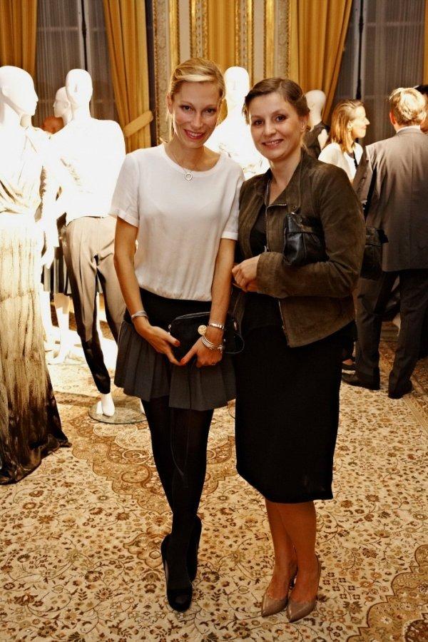 Magdalena Moussson-Lestang (Lilou) i Iwona Kwiecień(Sekretarz Redakcji Party)