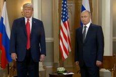 Donald Trump miał uwierzyć Władimirowi Putinowi na słowo i zarzucić Ukrainie ingerencję w wybory w USA.