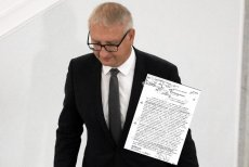 Poseł Pięta pogroził posłance PO sądem. Wtedy ona przypomniała mu dokument, o którym wolałby zapomnieć