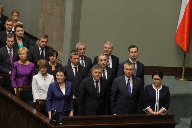 Sejm udzielił wotum zaufania dla rządu Ewy Kopacz. Za nowym gabinetem PO-PSL zagłosowało 259 posłów