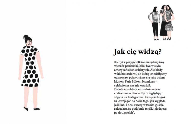 Rysunki Igora Kubika ilustrują bogato pierwszą część książki.
