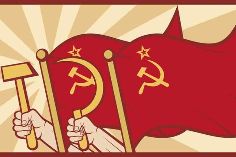 Sowieckie symbole - sierp i młot