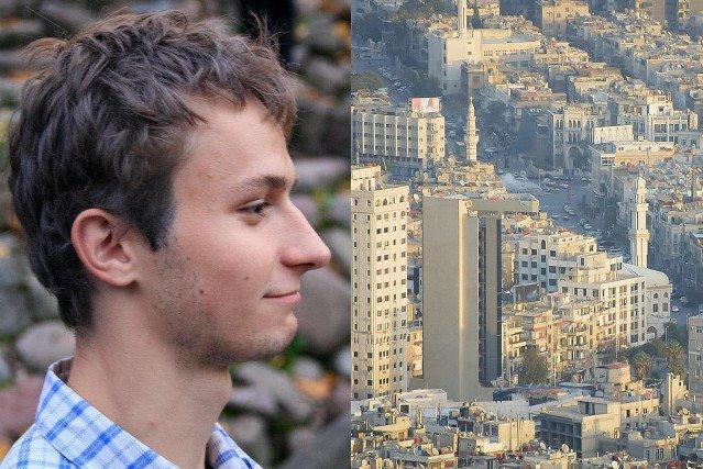 Kacper to Polak, który mieszkał przez 5 lat w Syrii, w Damaszku