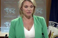 Rzeczniczka Departamentu Stanu USA poinformowała, że Waszyngton jest zaniepokojony działaniami PiS w Polsce.
