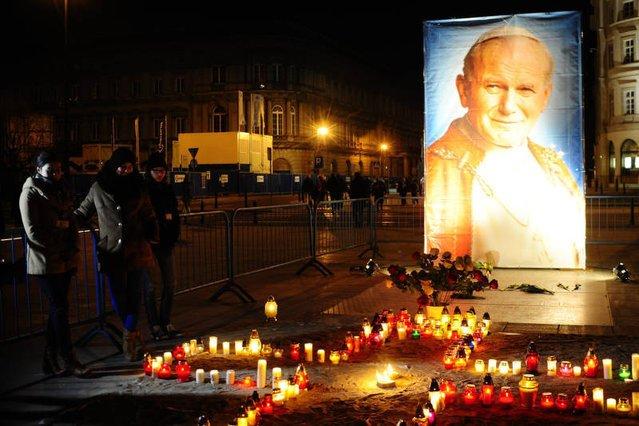 Jan Paweł II zmarł 2 kwietnia 2005 roku.