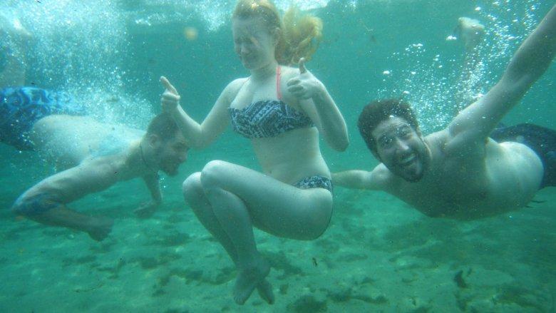 Zdjęcie wykonane aparatem podwodnym