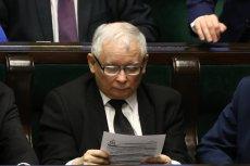 Jarosław Kaczyński napisał list do senatorów PiS. Dotyczy on sprawy głosowania nad immunitetem Stanisława Koguta.