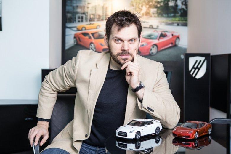 Kamil Dłutko, prezes Supercar Club Poland.