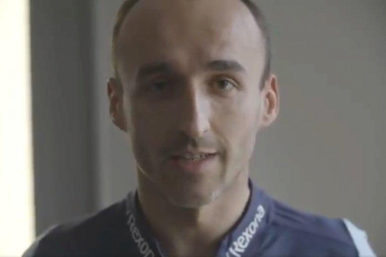 Robert Kubica z okazji podjęcia współpracy z PKN Orlen nakręcił specjalny film.