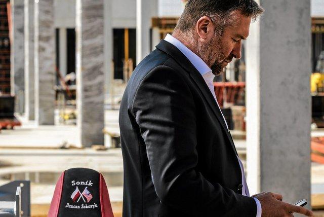 Rafał Sonik, sportowiec, który inwestuje w centra handlowe. W Tarnowie radni PiS nie chcieli rozbudowy jego biznesu.