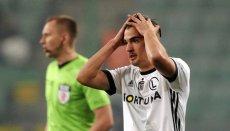 Legia Warszawa przegrała z Rakowem Częstochowa. Odpada z Pucharu Polski.