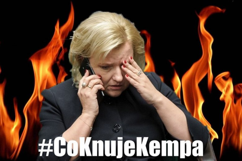 Hasztah z pytaniem #CoKnujeKempa stał się jednym z najpopularniejszych trendów na polskim Twitterze.