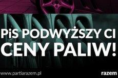 Benzyna Plus to sposób PiS na sięgnięcie do kieszeni Kowalskiego, gdy zabrakło odwagi na opodatkowanie wielkiego biznesu –mówi Mateusz Mirys z Partii Razem.