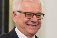 Minister Jacek Czaputowicz pogratulował Oldze Tokarczuk Nagrody Nobla. Ale w tekście MSZ o tych gratulacjach znalazł się fatalny błąd.