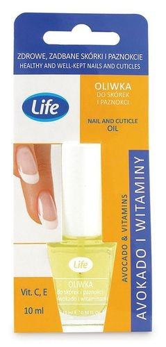 Oliwka do skórek i paznokci z avocado i witaminami, LIFE
