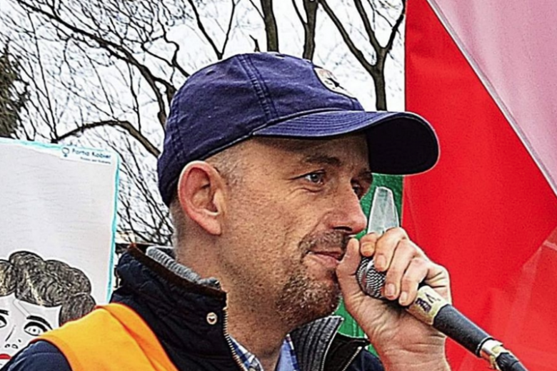 Piotr Wieczorek został nowym szefem KOD na Mazowszu.