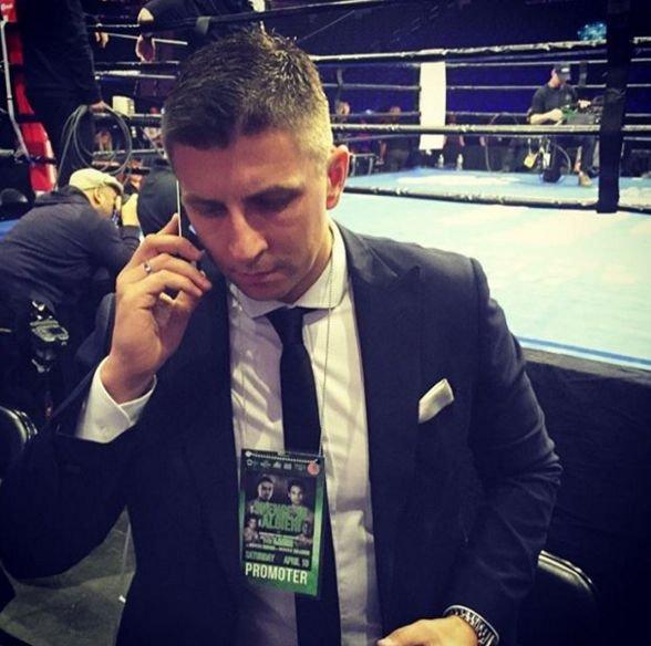 Mateusz Borek od 2017 roku jest promotorem gal bokserskich.