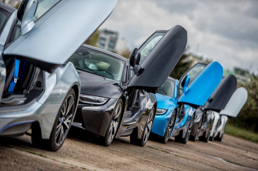 BMW i8 robi wrażenie na każdym.