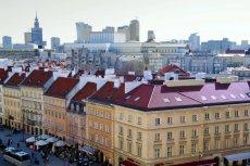 Życie w Warszawie może być bardzo drogie.