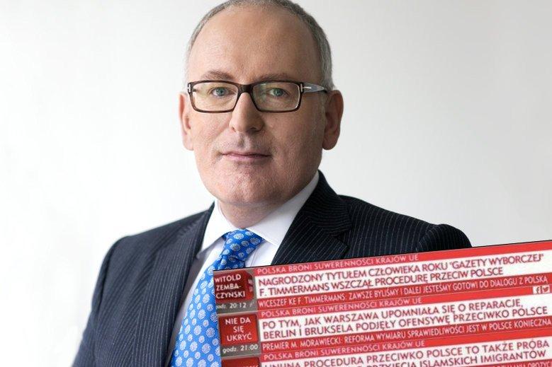 W TVP Info wyjaśniają, co tak naprawdę stoi za uruchomieniem przeciwko Polsce artykułu 7. Traktatu o Unii Europejskiej.