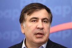 Były prezydent Micheil Saakaszwili po wydaleniu z Ukrainy wylądował w Warszawie.