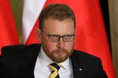 Prof. Łukasz Szumowski, nowy minister zdrowia. Zastąpił na tym stanowisku Konstantego Radziwiłła.
