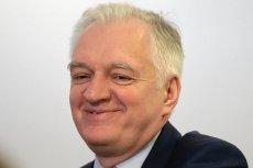 Jarosław Gowin powiedział co sądzi o strajku pracowników socjalnych.