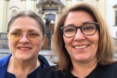 Krystyna Pawłowicz i Beata Mazurek złożyły życzenia na Wielkanoc. Przy okazji poseł PiS wbiła szpilę opozycji.