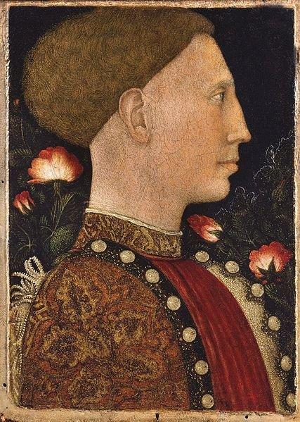 Pisanello, Portret Lionella d`Este,1441