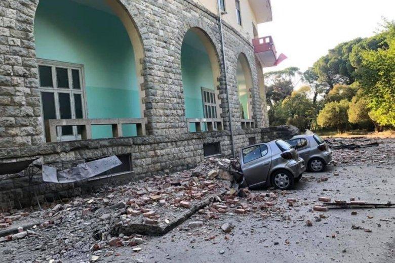 To najsilniejsze trzęsienie ziemi w Albanii od 20-30 lat