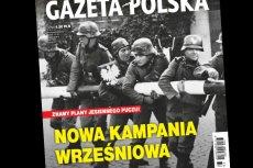 """""""Gazeta Polska"""" użyła dwóch ulubionych motywów. W mundury hitlerowców niszczących polską granicę ubrano liderów opozycji i  rozmarzono się o kolejnym """"puczu""""."""