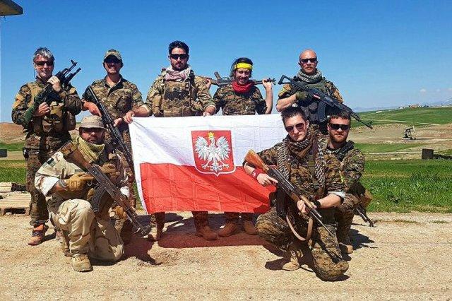 Grupa Archer, w której skład wchodzą polscy żołnierze walczący z ISIS