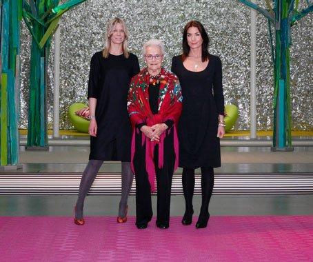 Marie i Annika Eklund /Bolon/ oraz Rosita Missoni