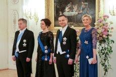 Agata i Andrzej Duda w parą prezydencką Finlandii.
