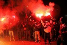 Miejmy nadzieję, że w tym roku Marsz Niepodległości nie Bedzie tak wyglądał.