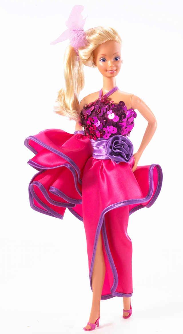 """""""Dream Date Barbie"""", czyli Barbie wybierająca się - wg. firmy Mattel - na wymarzoną randkę, lata 80."""
