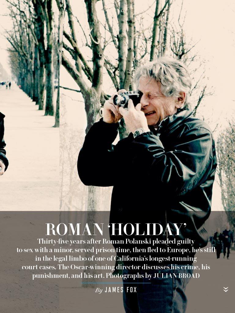 """Roman Polański w """"Vanity Fair"""""""