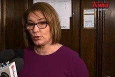 Beata Mazurek zarzuciła reporterce TV Trwam manipulację. Pytanie dotyczyło prac nad projektem zaostrzającym przepisy aborcyjne.