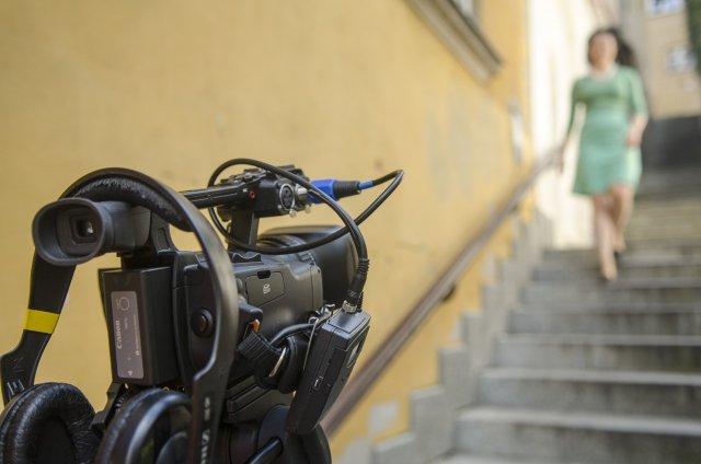 Kamienne Schodki - jedno z miejsc, w których łatwo spotkać filmowców i fotografów